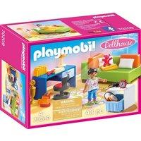 Playmobil® Konstruktions-Spielset »Jugendzimmer (70209), Dollhouse«, (43 St), Made in Germany