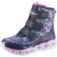 Skechers Kids »Blinkschuh Heart Lights« Sneaker mit praktischen Klettverschlüssen