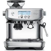 Sage Espressomaschine »The Barista Pro, SES878BSS4EEU1«, Gebürstetes Edelstahl