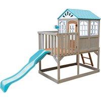 Spielhaus Holzspielturm mit Rutsche*