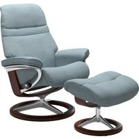 Stressless® Fußhocker »Sunrise«, mit Signature Base, Gestell Braun