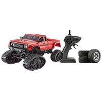 Amewi Pickup Truck mit Rädern & Ketten 4WD 1:16 rot*
