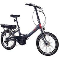 Telefunken E-Bike »Kompakt F800«, 7 Gang Shimano FT 35 Schaltwerk, Kettenschaltung, Frontmotor 250 W