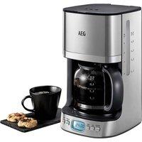 AEG Filterkaffeemaschine KF 7600 PremiumLine, 1,25l Kaffeekanne, Permanentfilter 1x4