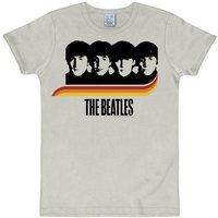 LOGOSHIRT T-Shirt mit lässigem Frontprint »The Beatles«