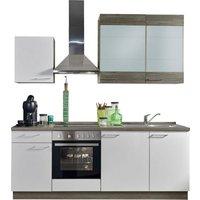 Express Küchen Küchenzeile »Trea«, mit E-Geräten, Breite 220 cm