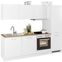 HELD MÖBEL Küchenzeile »Kehl«, mit E-Geräten, Breite 240 cm