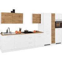 HELD MÖBEL Küchenzeile »Kehl«, ohne E-Geräte, Breite 390 cm