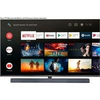 TCL 65X10X1 QLED-Fernseher (164 cm/65 Zoll, 4K Ultra HD, Smart-TV, Android 9.0 Betriebssystem, AndroidTV Sprachfernbedienung)