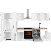 wiho Küchen Küchenzeile »Erla«, mit E-Geräten, Breite 310 cm