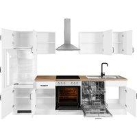 wiho Küchen Küchenzeile »Erla«, ohne E-Geräte, Breite 280 cm