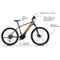E-MTB Fischer Fahrräder EBike Montis 40i MTB EBike 9 Gang