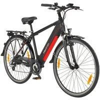 MAXTRON E-Bike Trekking »MT-1«, 28 Zoll, 8 Gang Heckmotor, 418 Wh