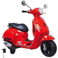 Vespa für Kinder Motorroller in rot auf elektro-fahrzeug-kaufen.de ansehen