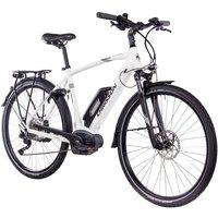 CHRISSON E-Bike Trekking Herren »E-ACTOURUS Gent«, 10 Gang, Shimano DEORE, Rahmenakku, 250 W
