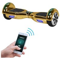 ROBWAY Hoverboard »W1«, CHROM EDITION 6,5 Zoll mit APP-Funktion