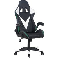 Racing Gamingstuhl unter 250 Euro Homexperts Gaming Chair Song Mit umlaufender LED