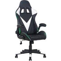 Racing Gamingstuhl unter 250 Euro Homexperts Gaming Chair Song Mit umlaufender LED