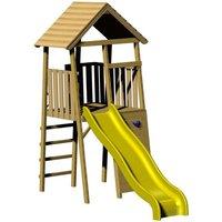 Spielturm Wendi Toys Falke mit Rutsche und Kletterwand*