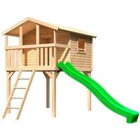 Spielturm ABUKI Unfug mit Leiter & Rutsche*