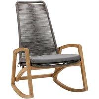 Hochwertiger Holz Schaukelstuhl Taormina auf garten-schaukeln.de ansehen