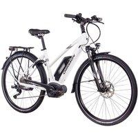 CHRISSON E-Bike Trekking Damen »E-ACTOURUS Lady«, 10 Gang, Shimano DEORE, Rahmenakku, 250 W auf elektro-fahrzeug-kaufen.de ansehen