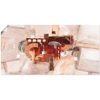 Artland Wandbild »Abstrakte Kreise«, Gegenstandslos (1 Stück), in vielen Größen & Produktarten - Alubild / Outdoorbild für den Außenbereich, Leinwandbild, Poster, Wandaufkleber / Wandtattoo auch für Badezimmer geeignet