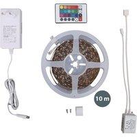 10M LED Streifen dimmbar Licht-Leiste RGB-Band Stripe Lichterkette Fernbedienung - B.K.LICHT