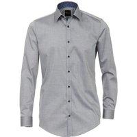 VENTI Langarmhemd »Popeline Hemd Unifarben« Kent