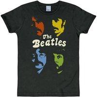 LOGOSHIRT T-Shirt mit The Beatles-Druck »The Fab Four«