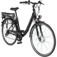 CHRISSON E-Bike City Damen »E-LADY«, 28 Zoll, 7 Gang, Frontmotor, 482 Wh