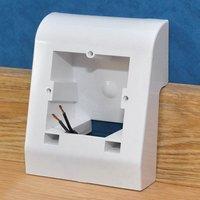 Arbiton Aufputz-Steckdose »Multibox Universalgehäuse«, Set, 2-St., Einbautiefe max. 25 mm