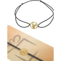 Adelia´s Armband »Armband - Hirsch - 925 Silber vergoldet«