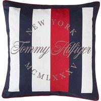 Kissenhülle »Corporate Stripes«, TOMMY HILFIGER (1 Stück), mit TH Logodruck
