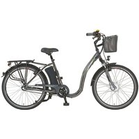 Didi THURAU Edition E-Bike »Alu City Comfort Tiefeinsteiger«, 3 Gang Shimano, Nabenschaltung, Frontmotor 250 W, (mit Schloss)*