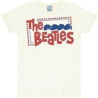 LOGOSHIRT T-Shirt mit coolem Front-Print »The Beatles«
