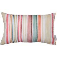 Kissenhülle »Washed Out Multi Stripes«, TOM TAILOR (1 Stück), mit pastelligen Streifen