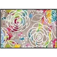 Mat, »Blossom Carpet«, SALONLOEWE, rechthoekig, hoogte 6 mm, gedessineerd