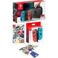 Nintendo Switch 32 GB (bundle, incl. Super Mario Party + 2e Joy-Con + notitieboekje)