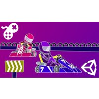 Image of Build A Multiplayer Kart Racing Game In Unity V.2019