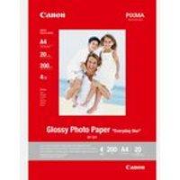 Canon GP-501 Fotoglanzpapier A4, 20 Blatt