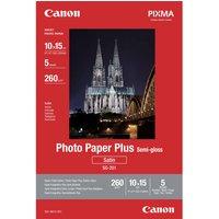 Canon's photo paper plus semi gloss (halfglanzend plus fotopapier) is papier met zijdeglansafwerking en de ...