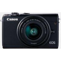Canon EOS M100 nero + obiettivo EF-M 15-45mm F3.5-6.3 IS STM nero