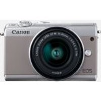 Canon EOS M100 systeemcamera Grijs + 15-45mm IS STM Zilver Limited Edition
