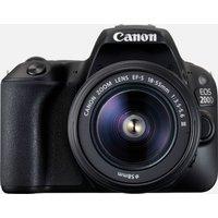 Canon EOS 200D Nero + obiettivo EF-S 18-55mm f/3.5-5.6 III