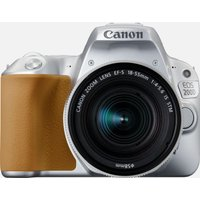 Canon EOS 200D Argento + obiettivo EF-S 18-55mm f/4-5.6 IS STM Argento