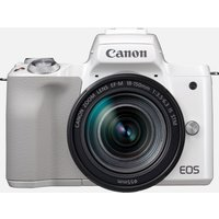 Canon EOS M50 bianca + EF-M 18-150mm IS STM argento