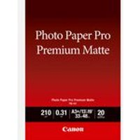 Canon PM-101 Premium Matte Photo Paper A3+ - 20 Sheets
