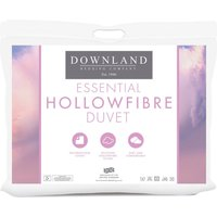 Downland Essential Hollowfibre 4.5 Tog Duvet