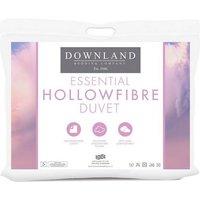 Downland Essential Hollowfibre 4.5 Tog Duvet